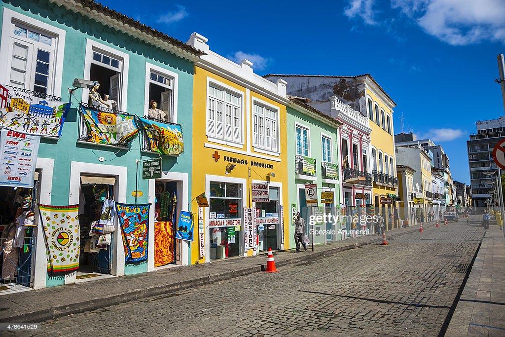 Pelourinho in Salvador.