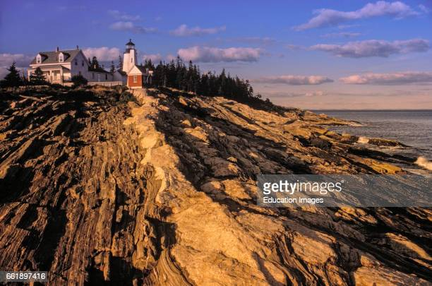 Pemaquid Point Lighthouse Bristol Lincoln County Maine