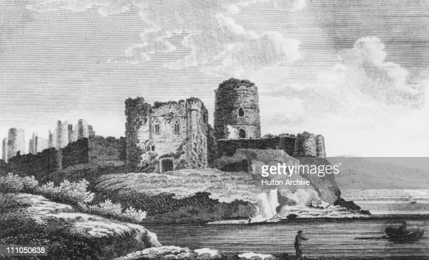 Pembroke Castle Pembrokeshire Wales circa 1700