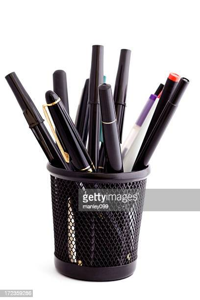 pen cup isolated