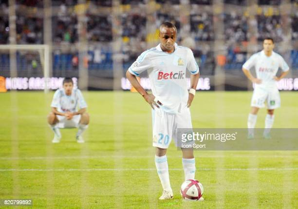 Penalty Andre AYEW Lille / Marseille Trophee des Champions Tanger Maroc