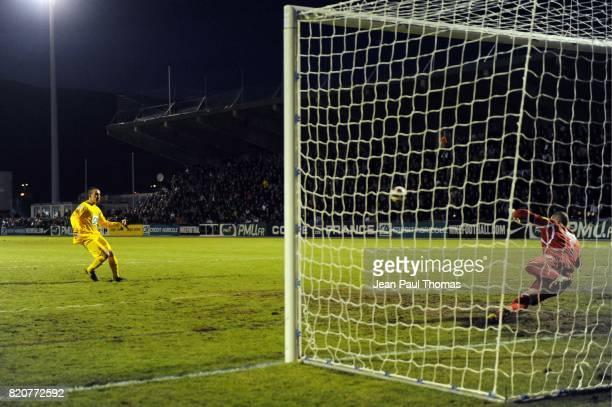 Penalty de la victoire Remi SAHINOVIC Chambery / Monaco 32e finale coupe de France