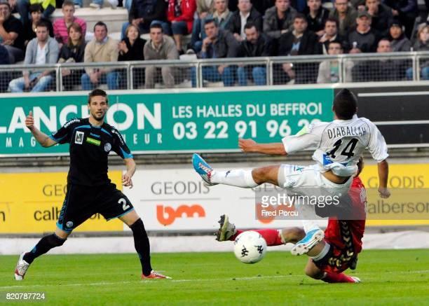 Penalty refuse sur Mohamed DJABALLAH Amiens / Strasbourg 38eme Journee de National