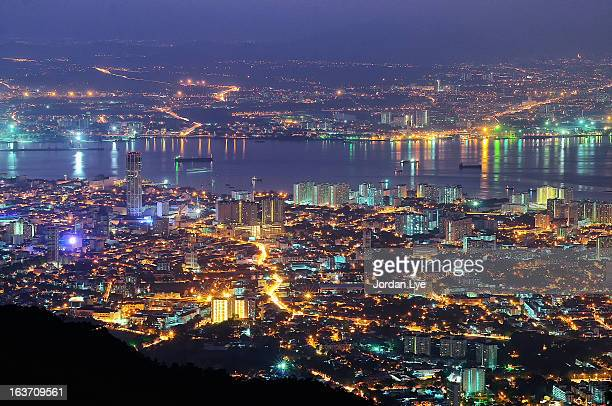 Penang night scape