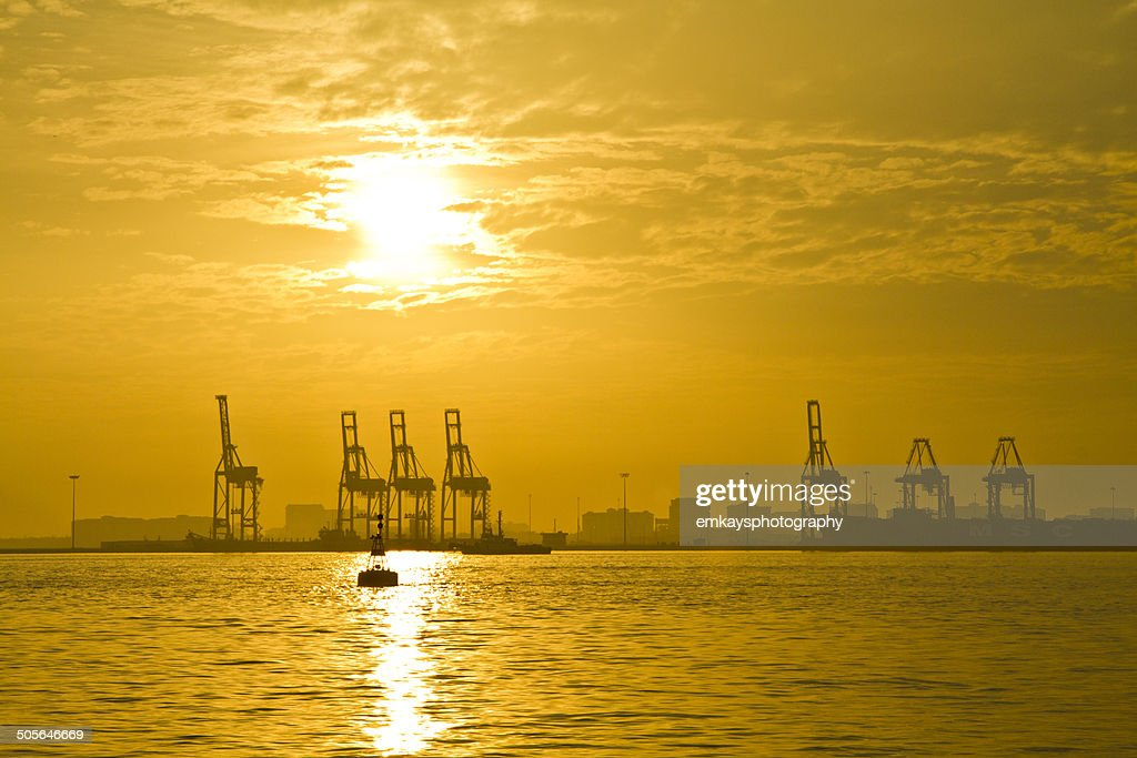 Penang Port : Stock Photo