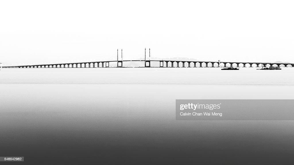 Penang Second Bridge or Sultan Abdul Halim Muadzam Shah Bridge