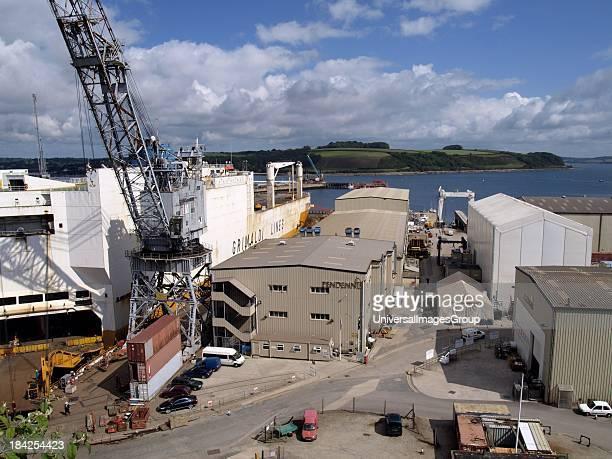 Pendennis Superyachts Falmouth Docks Cornwall UK