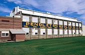 Pendleton Woolen Mills, exterior.