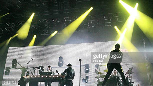 Pendulum perform on day two of Bestival at Robin Hill Country Park on September 9 2011 in Newport Isle of Wight