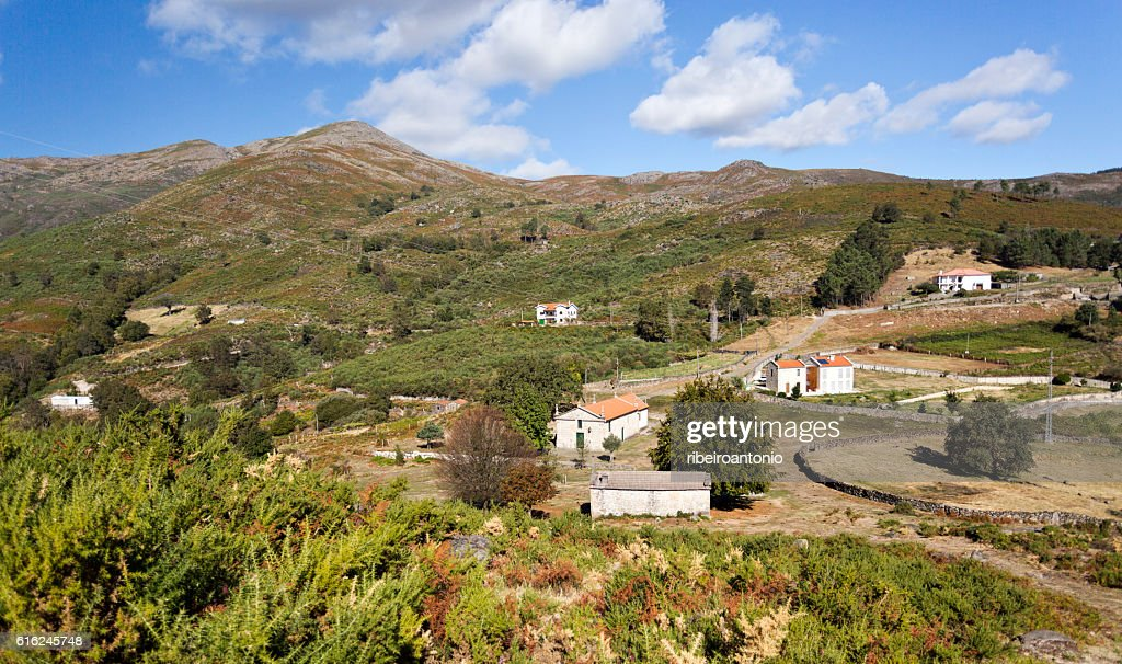 Peneda Mountain Chapel : Stock Photo