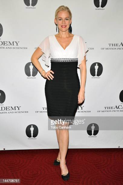Penelope Ann Miller attends the centennial tribute to Gene Kelly at AMPAS Samuel Goldwyn Theater on May 17 2012 in Beverly Hills California