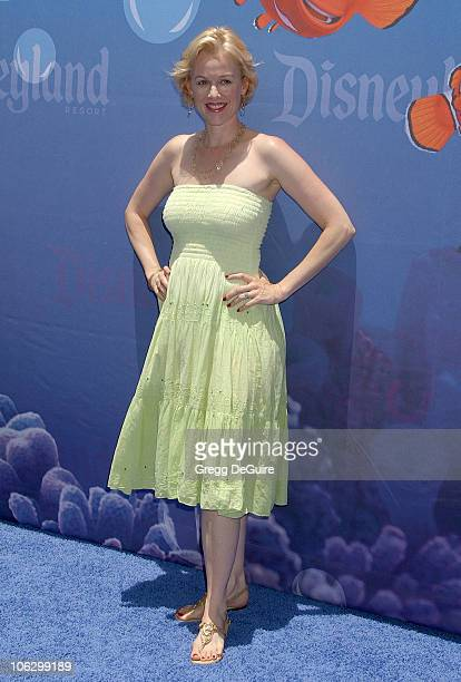 Penelope Ann Miller during Finding Nemo Submarine Voyage Opening Arrivals at Disneyland in Anaheim California United States