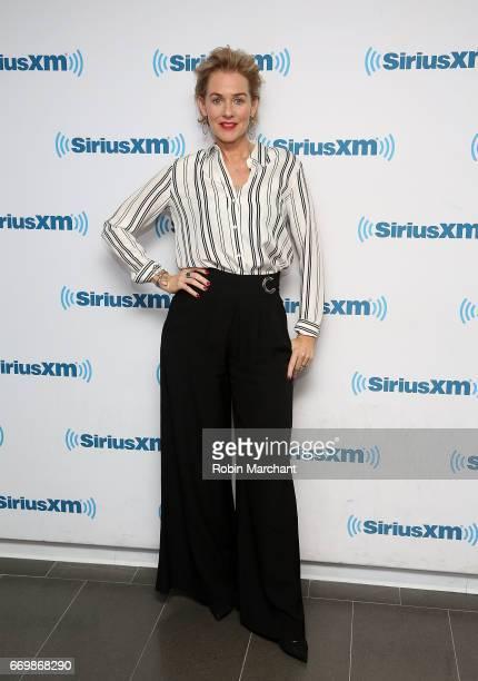 Penelope Ann Miller visits at SiriusXM Studios on April 18 2017 in New York City