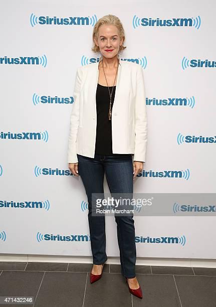 Penelope Ann Miller visits at SiriusXM Studios on April 28 2015 in New York City