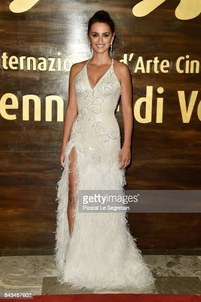 Penelope Cruz ahead of the 'Loving Pablo' screening during the 74th Venice Film Festival at Sala Grande on September 6 2017 in Venice Italy