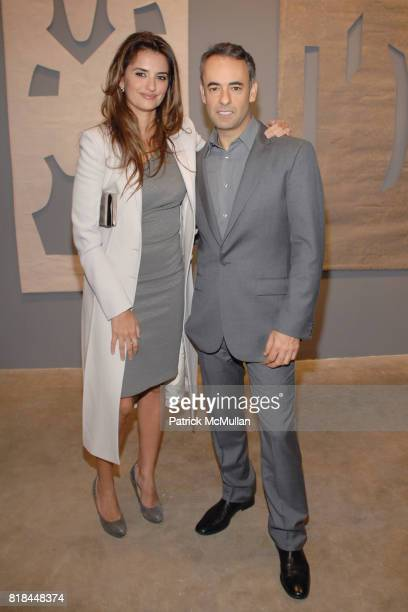 Penelope Cruz and Francisco Costa attend CALVIN KLEIN COLLECTION LOS ANGELES NOMADIC DIVISION CELEBRATE LA ARTS MONTH ART LOS ANGELES CONTEMPORARY at...