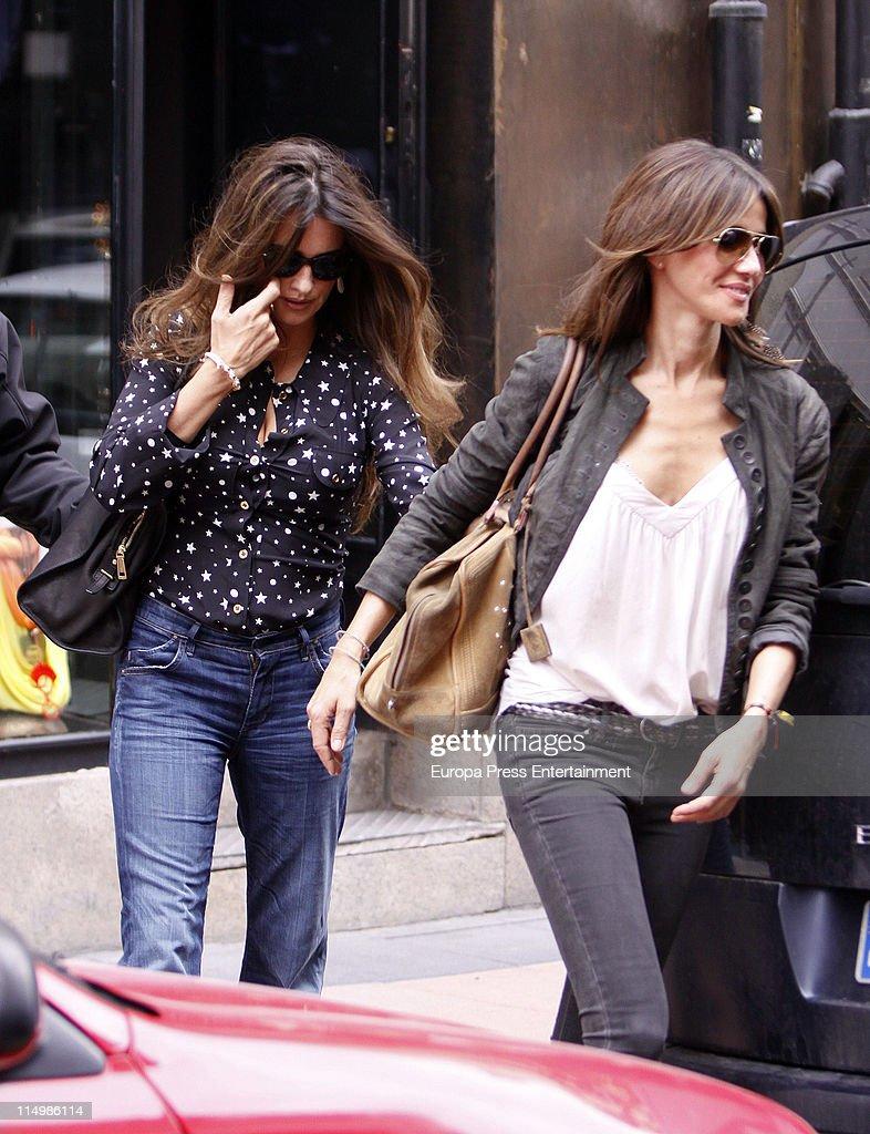 Penelope Cruz and Goya Toledo Sighting In Madrid- June 1 ...