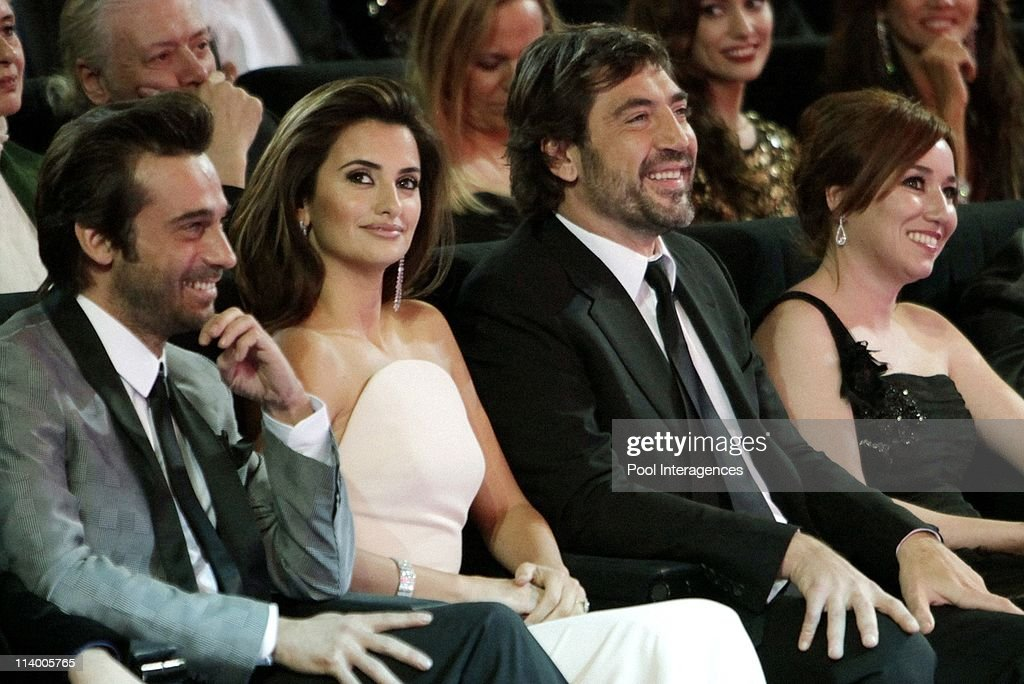 Penelope Cruz and Javier Bardem at the Goya awards 2010 Gala In Madrid, Spain On February 14, 2010-Actress Penelope Cruz and actor Javier Bardem at the Goya awards 2010 Gala at 'Palacio de Congresos'.