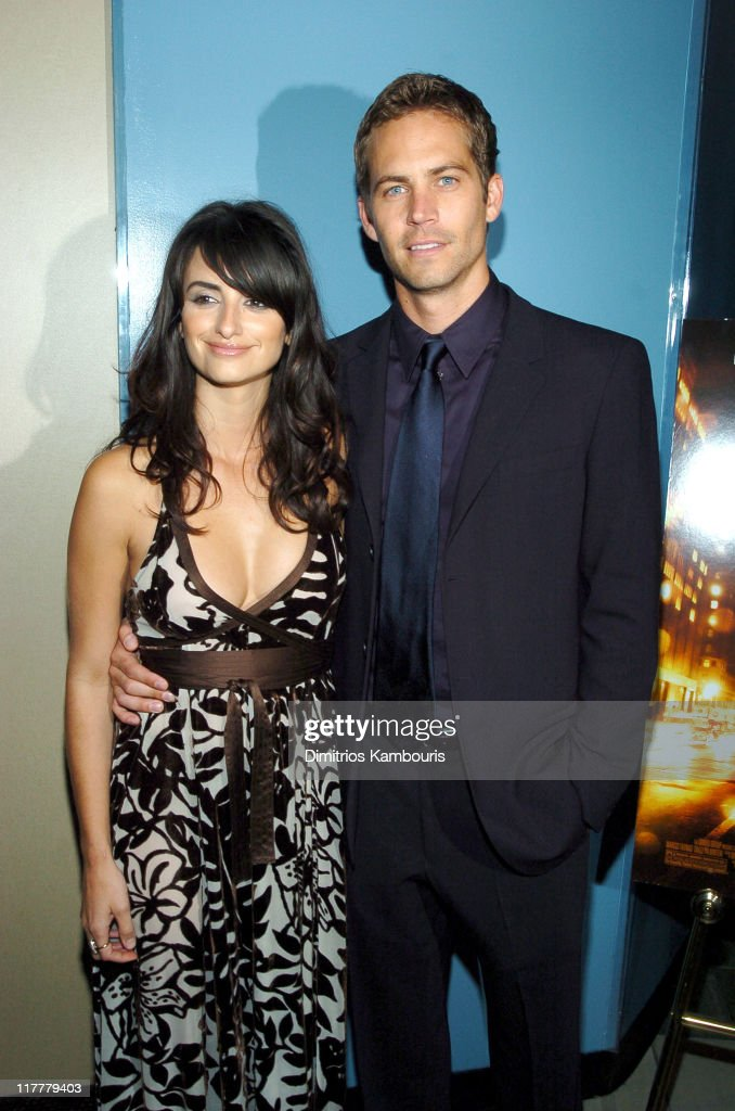 Penelope Cruz and Paul Walker during 'Noel' New York City Premiere - Arrivals at Regal United Artist Battery Park City Stadium 16 in New York City, New York, United States.