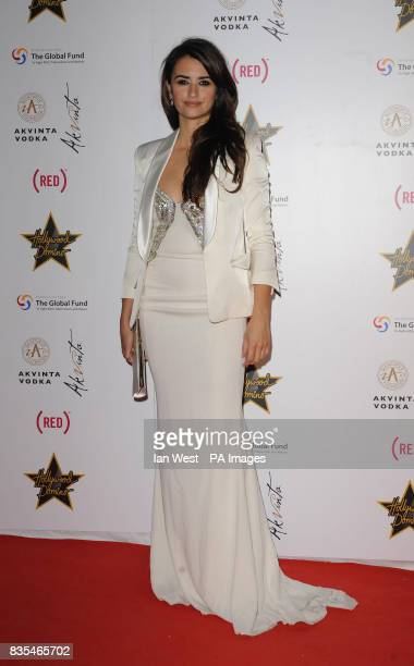 Penelope Cruz arrives at the Hollywood Domino party hosted by Akvinta vodka at the House of Cannes in Cannes France