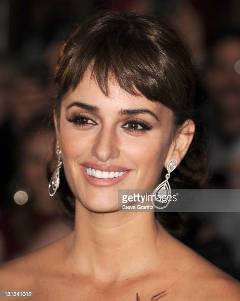 Penelope Cruz arrives at the 'Pirates Of The Caribbean On Stranger Tides' World Premiere at Disneyland on May 7 2011 in Anaheim California