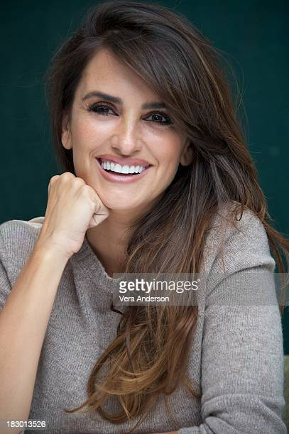 Penelope Cruz at 'The Counselor' Press Conference at The Mayfair Hotel on October 3 2013 in London England