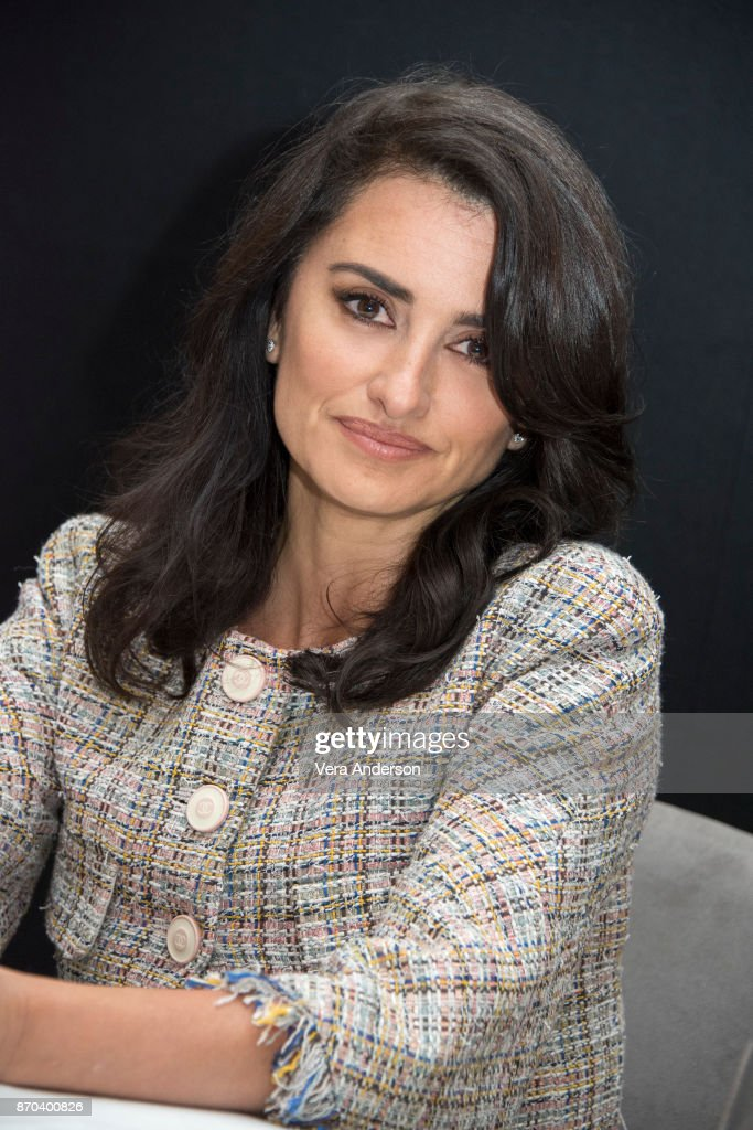 Penelope Cruz at the 'Murder on the Orient Express' Press Conference at the Claridges Hotel on November 3, 2017 in London, England.