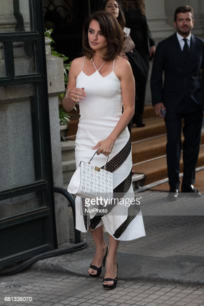 Penelope Cruz attend the Carpisa photocall at Italian Embassy in Madrid on May 9 2017