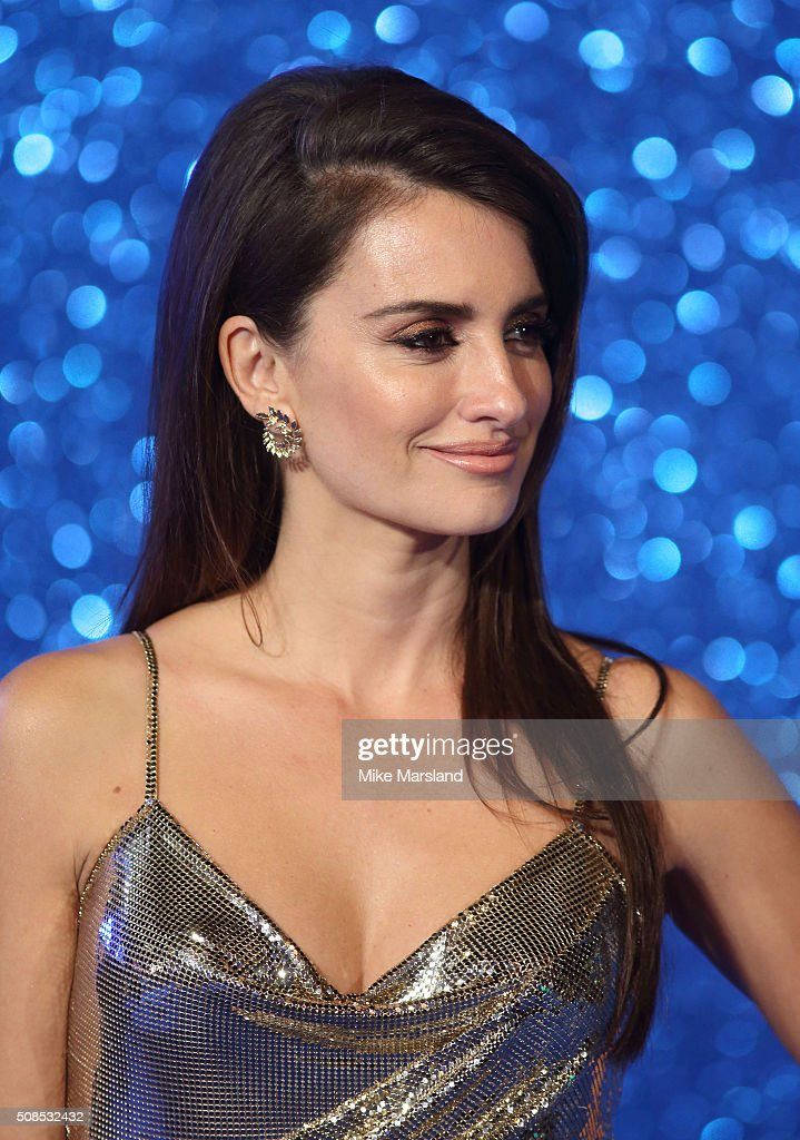 Penelope Cruz attends a London Fan Screening of the Paramount Pictures film 'Zoolander No. 2' at Empire Leicester Square on February 4, 2016 in London, England.