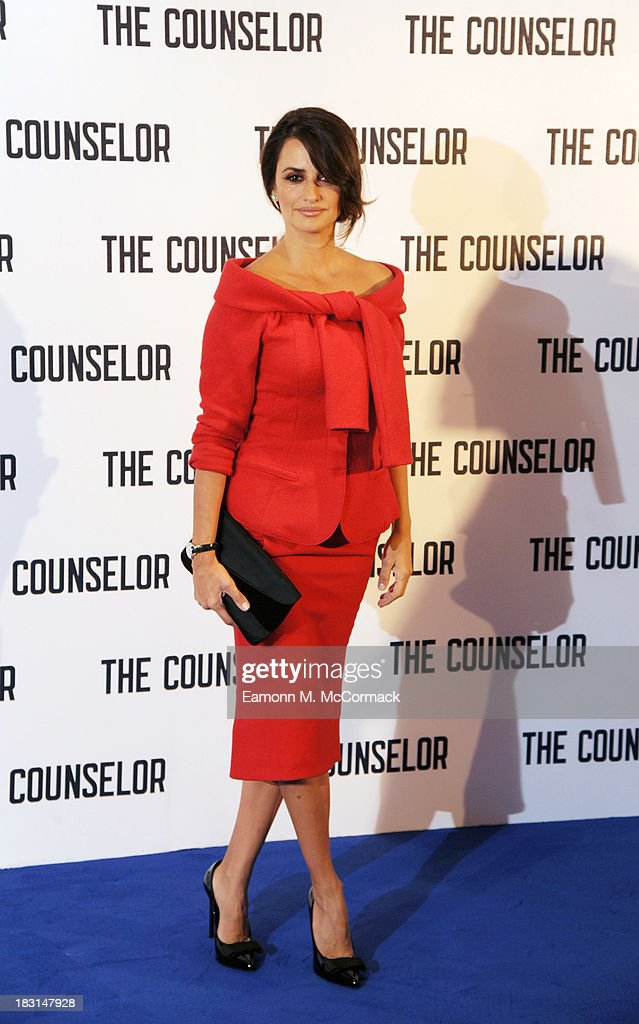 Penelope Cruz attends a photocall for 'The Counselor' at The Dorchester on October 5, 2013 in London, England.