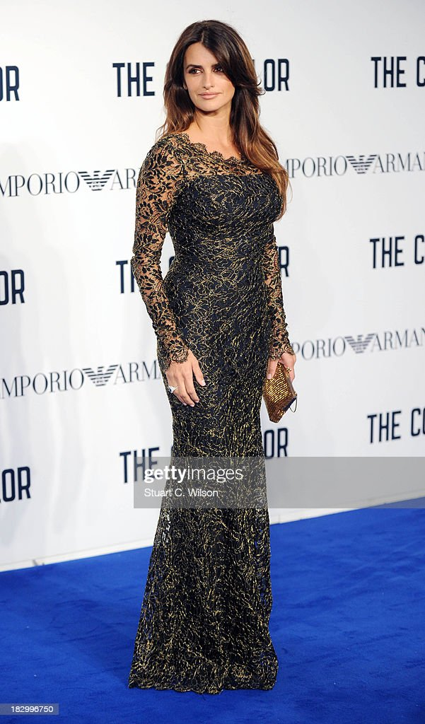 <a gi-track='captionPersonalityLinkClicked' href=/galleries/search?phrase=Penelope+Cruz&family=editorial&specificpeople=171775 ng-click='$event.stopPropagation()'>Penelope Cruz</a> attends a special screening of 'The Counselor' at Odeon West End on October 3, 2013 in London, England.