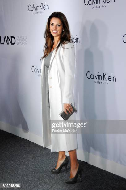 Penelope Cruz attends CALVIN KLEIN COLLECTION LOS ANGELES NOMADIC DIVISION CELEBRATE LA ARTS MONTH ART LOS ANGELES CONTEMPORARY at Los Angeles on...