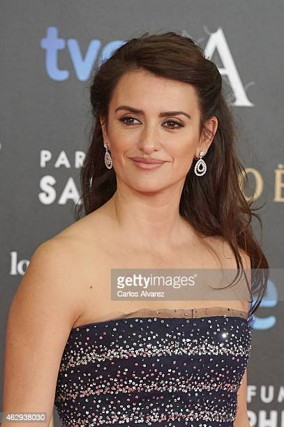 Penelope Cruz attends Goya Cinema Awards 2014 at Centro de Congresos Principe Felipe on February 7 2015 in Madrid Spain