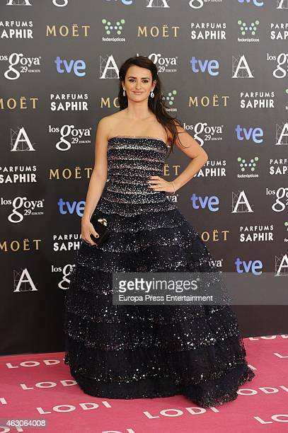 Penelope Cruz attends Goya Cinema Awards 2015 at Centro de Congresos Principe Felipe on February 7 2015 in Madrid Spain