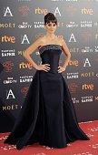 Penelope Cruz attends Goya Cinema Awards 2016 at Madrid Marriott Aud