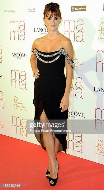Penelope Cruz attends 'Ma ma' charity premiere on September 9 2015 in Madrid Spain