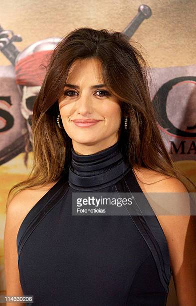 Penelope Cruz attends 'Pirates Of The Caribbean On Stranger Tides' photocall at the Villamagna Hotel on May 18 2011 in Madrid Spain