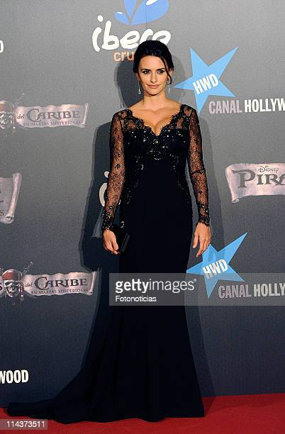 Penelope Cruz attends 'Pirates Of The Caribbean On Stranger Tides' premiere at Kinepolis Cinema on May 18 2011 in Madrid Spain
