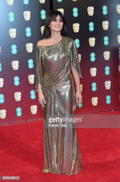 Penelope Cruz attends the 70th EE British Academy Film Awards at the Royal Albert Hall on February 12 2017 in London England