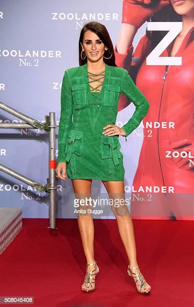Penelope Cruz attends the Berlin fan screening of the film 'Zoolander No 2' at CineStar on February 2 2016 in Berlin Germany