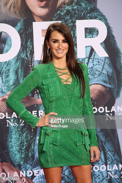 Penelope Cruz attends the Berlin fan screening of the film 'Zoolander No 2' at CineStar on February 2 2016 in Berlin Germany