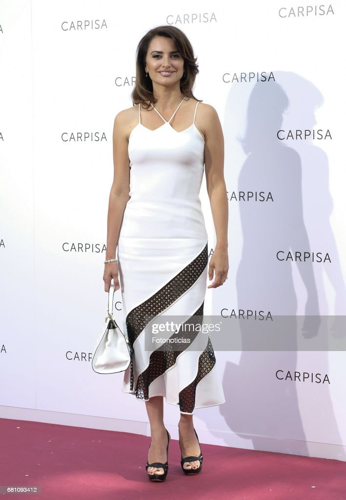 Penelope Cruz attends the Carpisa stores presentation at the Italian Embassy on May 9, 2017 in Madrid, Spain.