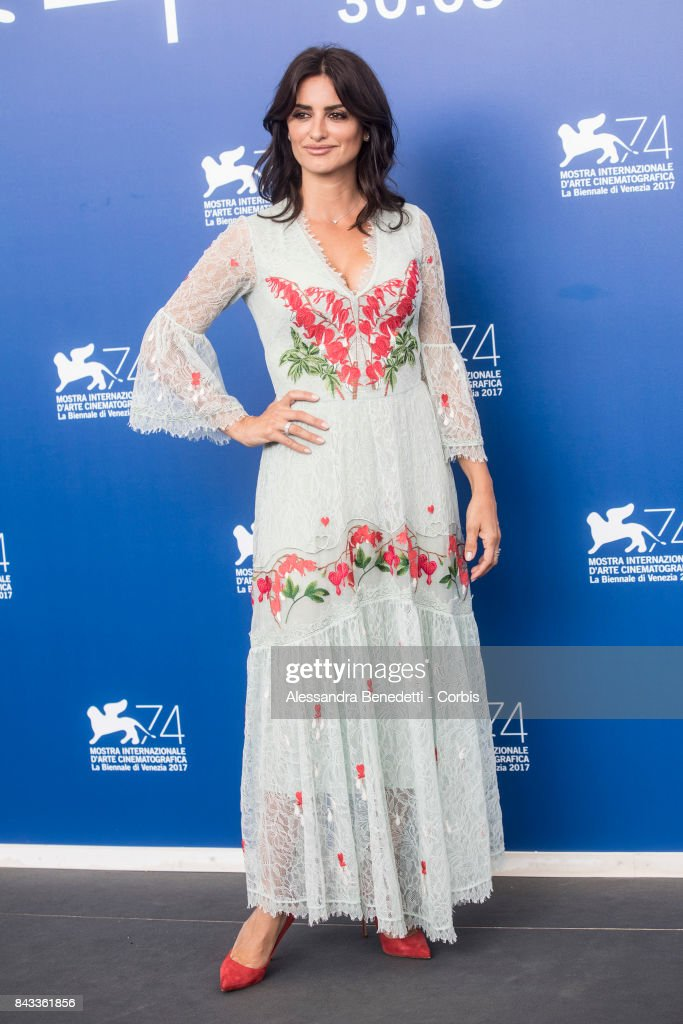 Penelope Cruz attends the 'Loving Pablo' photocall during the 74th Venice Film Festival at Sala Casino on September 6, 2017 in Venice, Italy.