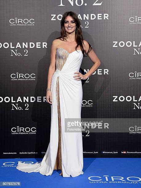 Penelope Cruz attends the Madrid Fan Screening of the Paramount Pictures film 'Zoolander No 2' at the Capitol Cinema on February 1 2016 in Madrid...
