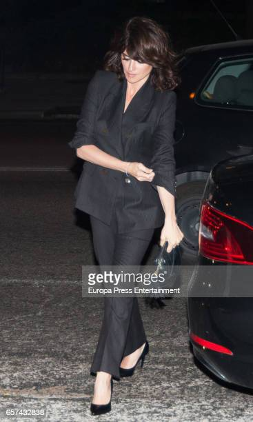 Penelope Cruz attends the Monica Cruz's 40th birthday party on March 14 2017 in Madrid Spain