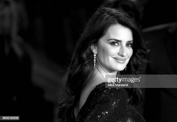Penelope Cruz attends the 'Murder On The Orient Express' World Premiere at Royal Albert Hall on November 2 2017 in London England