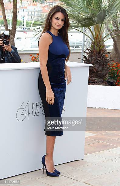 Penelope Cruz attends the 'Pirates of the Caribbean On Stranger Tides' photocall at the Palais des Festivals during the 64th Cannes Film Festival on...