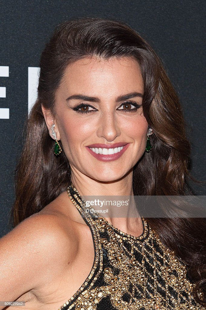 Penelope Cruz attends the 'Zoolander 2' world premiere at Alice Tully...