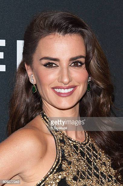 Penelope Cruz attends the 'Zoolander 2' world premiere at Alice Tully Hall on February 9 2016 in New York City