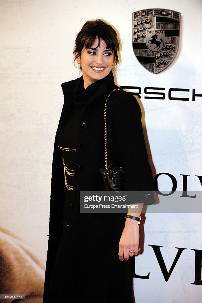 Penelope Cruz attends 'Venuto Al Mondo' premierte at Capitol Cinema on January 10, 2013 in Madrid, Spain.